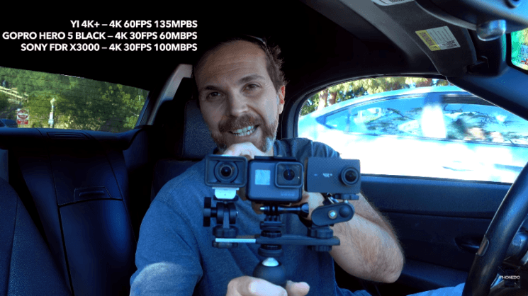 Action cam in-depth review: Yi 4K+ vs GoPro Hero 5 Black vs Sony FDR X3000