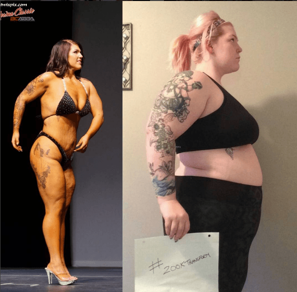 Photographer leaves out photo from bodybuilding contest gallery because of contestant's excess skin