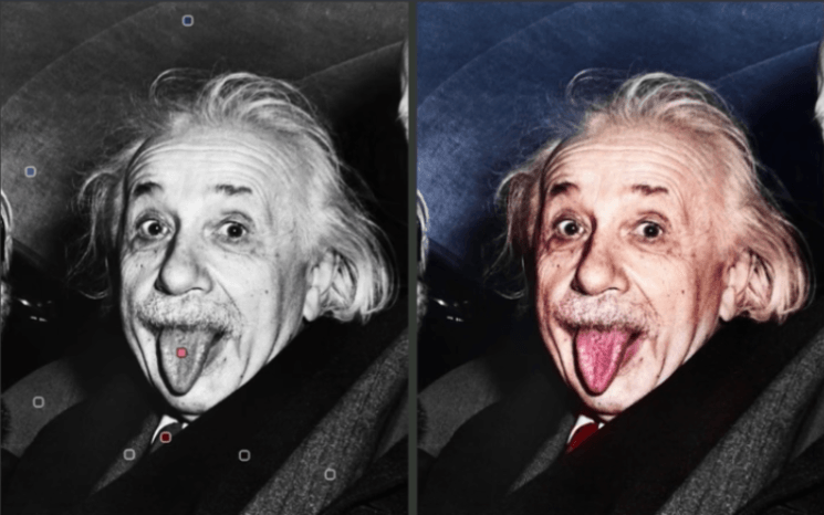 This software makes it easier than ever to colorize black and white images