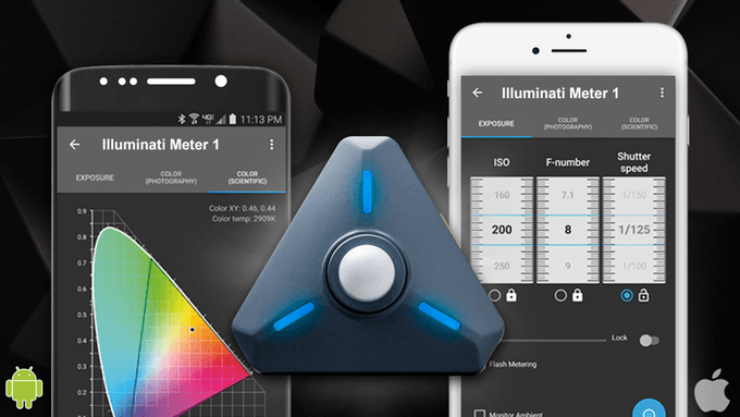 This is how Illuminati color meter can help you improve photos and videos