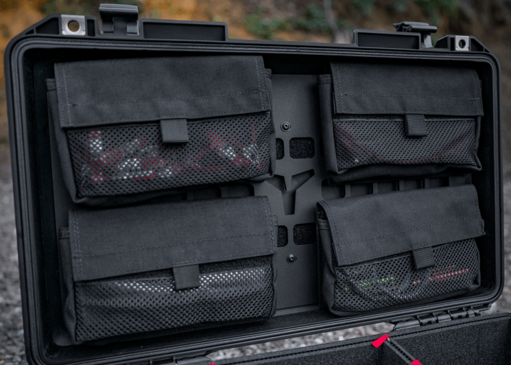MDX Lid Organizer helps you organize gear and fit more of it in your Pelican case