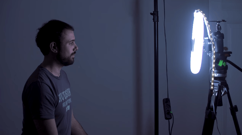 Build the easiest DIY ring light ever for less than $20