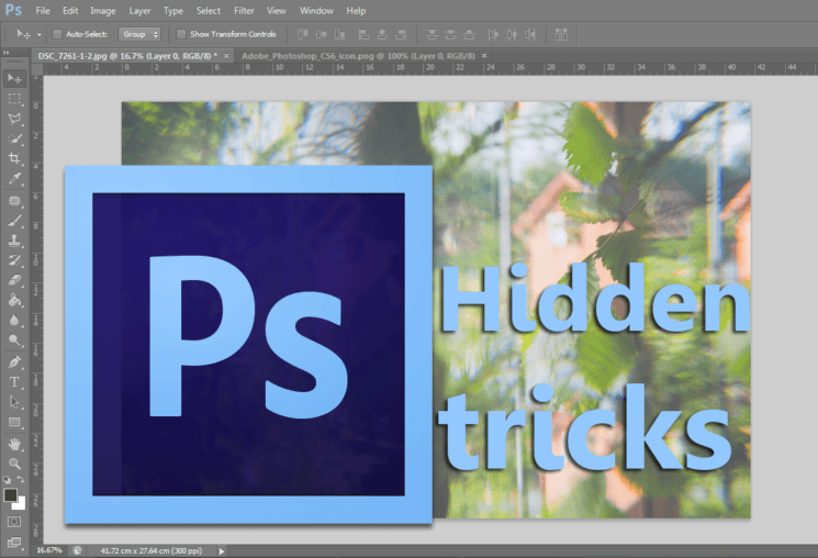You probably don't know these Photoshop tricks, and they're right before your eyes