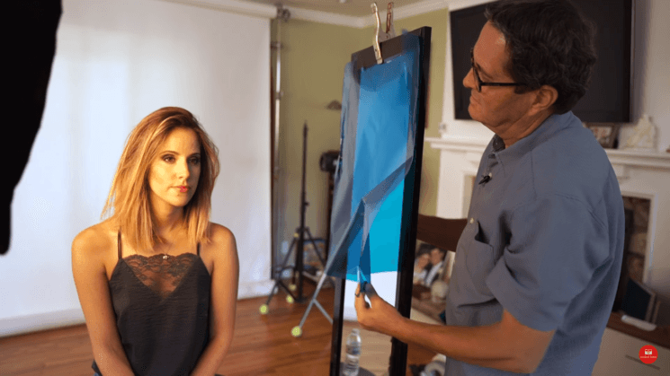 Coloring shadows can make your photo, this is how you do it with gels