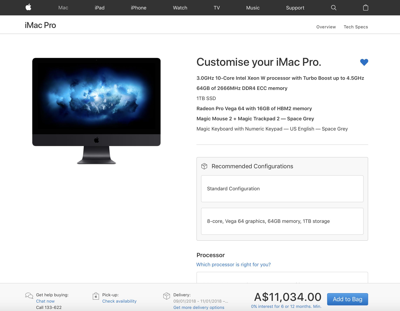 If $5K+ for an iMac Pro is too much, it's not for you! - DIY
