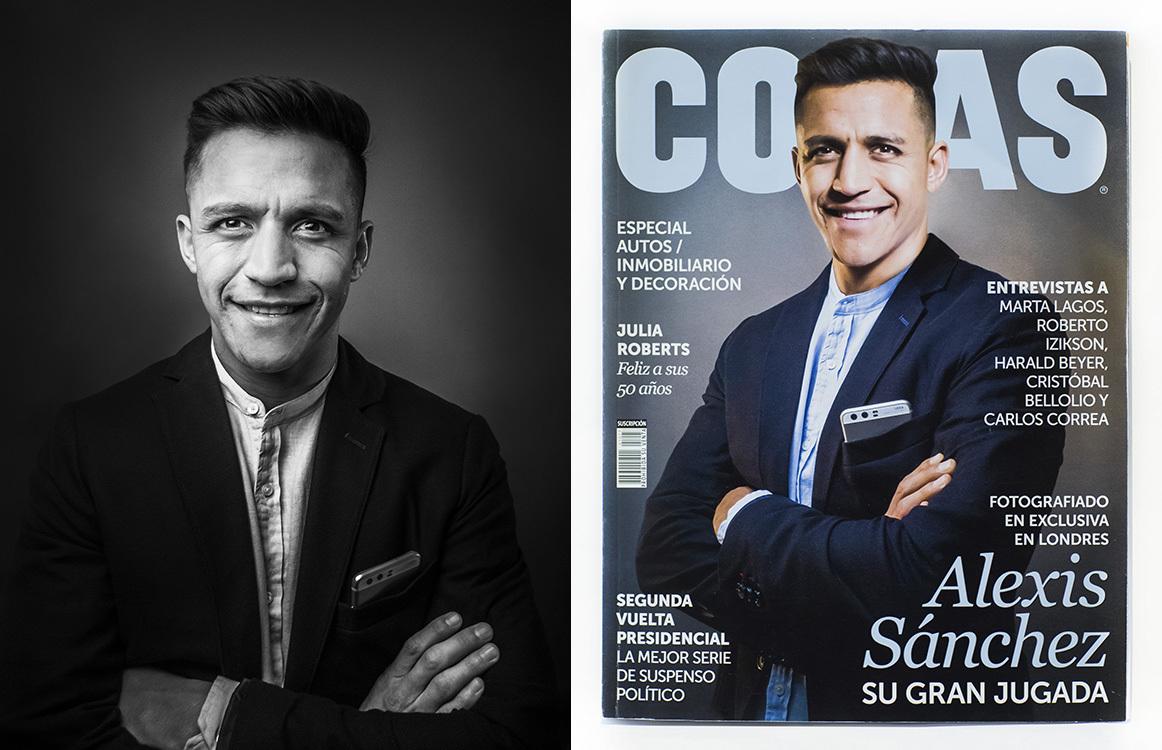 How I shot a magazine cover with a smartphone - DIY