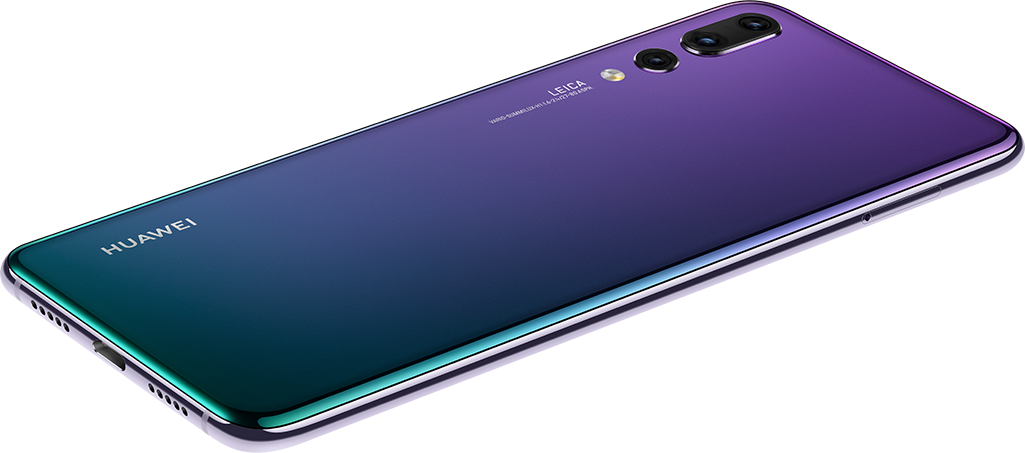 This is Huawei P20, the first phone with a triple Leica