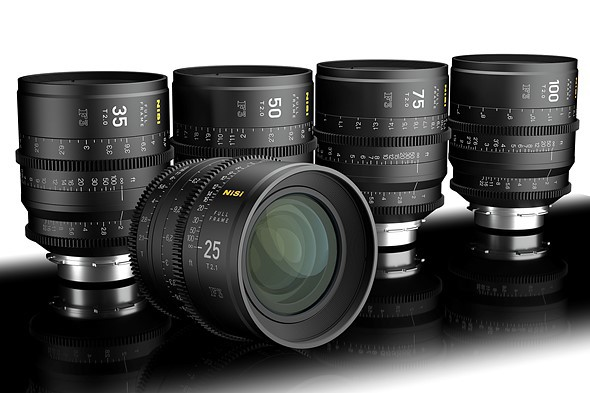 NiSi releases more details about their full-frame cine lenses and announces new cine filters