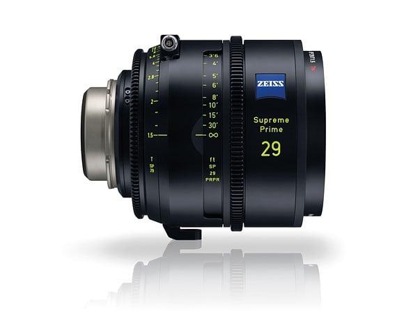Zeiss announces 'Supreme Prime' lenses for full frame cameras